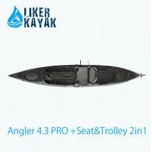 Qualidade estável LLDPE / HDPE Fábrica de caiaque de pesca de plástico OEM / ODM disponível