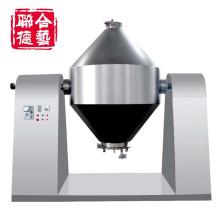 Máquina mezcladora rotativa doble cono para polvo y gránulos