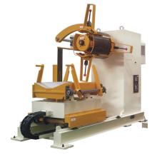 Motorisierte Presse-Fütterungslinie hydraulische Decoiler-Maschine