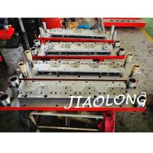 Scroll Weißblech Stanzformen Metall Stanzformen mit Hartmetallschneider auf Hengli Abwickelmaschine