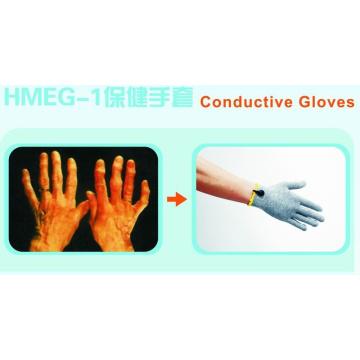 Uso de luvas condutivas com dispositivo Tens / EMS para alívio da dor