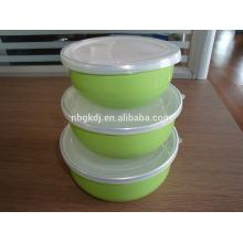 миски посуда эмаль миска пальцем миску
