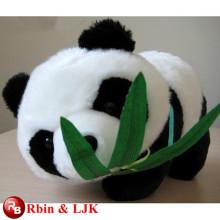ICTI Audited Factory High Quality Custom Promotion Plüsch Panda mit Bambus