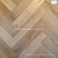 Herringbone Wooden Parquet Oak Engineered Wood Flooring
