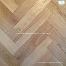 Herringbone Wooden Parquet Oak Piso de madeira projetado
