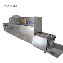 Hermetia illucens microwave tunnel oven black soldier fly dryer machine insect dehydrator equipment