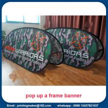 Banners de pancartas pop-up personalizados Publicidad de carteles