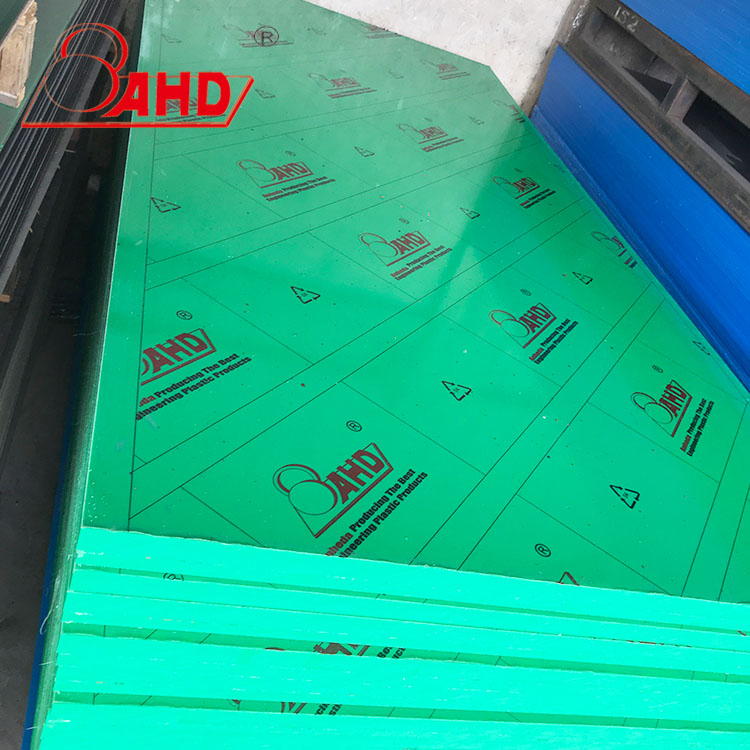 Green 30mm Hdpe Board