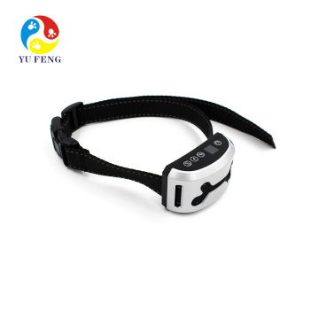 Small Dog Bark Collar For Tiny To Medium Dogs by Rechargeable And Waterproof Vibrating Anti Bark Training Device Best 7 level Black and Rechargeable anti bark electric shock training collar