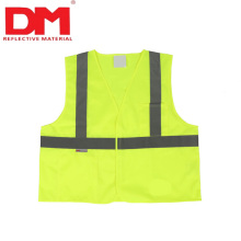 EN1150 children Orange Reflective Safety Vest for kids