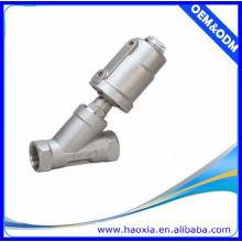 Válvula pneumática de assento angular JZF-20 com aço inoxidável Boday