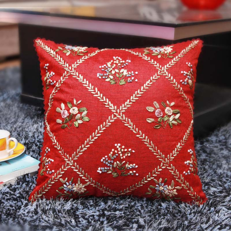 Fashion Garden Ribbon Embroidery