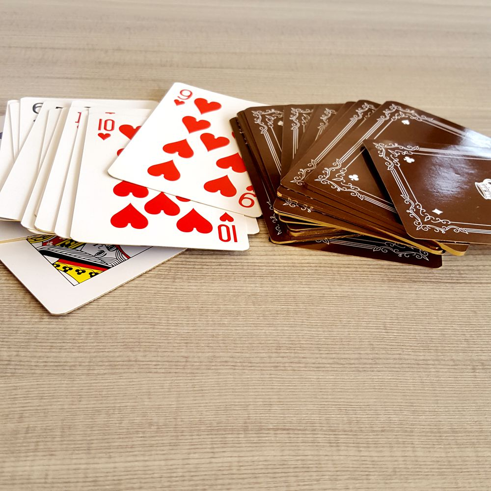 Gold Foil Side Playing Cards