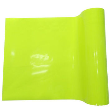 Glass Bead Fluorescent Retro-reflective Vinyl Film