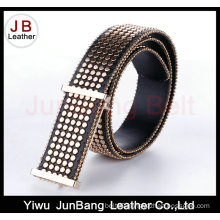 Fashion Rivet Men′s Pin Buckle Belt