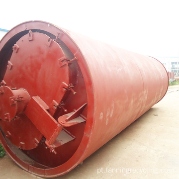 Lanning Pyrolisis Plant Plastic Waste To Oil