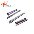 LDPE HDPE granulate conical twin screw barrel with good quality