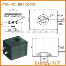 A044 Type 220 Volt Insulation Class H 11x36mm Pulse Valve Solenoid Coil
