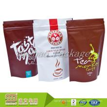 Accept Custom Order Printed Plastic Stand Up Food Grade Aluminium Foil Coffee Powder Zip Lock Bag/Pouch