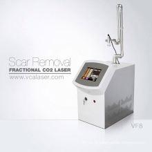 Profissional máquina médica uso doméstico co2 clareamento da pele a laser