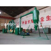 High efficiency sawdust dryer machine