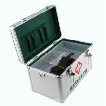 Kit de primeros auxilios de aluminio con mango