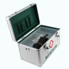 Aluminum First Aid Kit with Handle