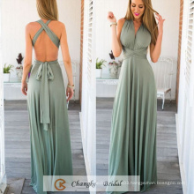 Western Gowns Party Dresses Chiffon Pleats Floor Length Mint Green Custom Made