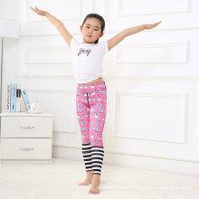 OEM Print Sport Leggings Pink Pants