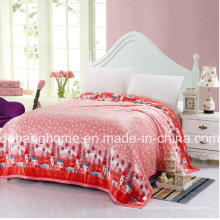 2015 Hot Sale Super Macio-Colorido Cobertor