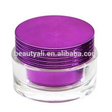 15g 30g 50g Роскошная пластичная косметическая акриловая упаковка сливк сливк