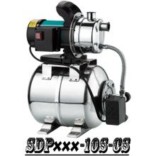 (SDP600-10S-CS) Household Self-Priming Jet Garden Booster Water Pump with Tank