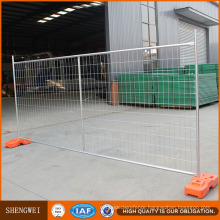 Au Welded Temporary Mesh Fence with Pipe