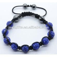 Natural stone woven bracelet,woven bangle
