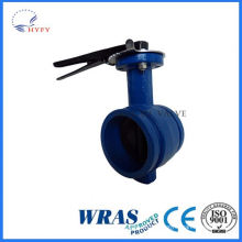 Hot promotional of sanitary welded butterfly ball valve
