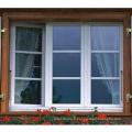 Fenêtre pvc à battant avec ouverture manuelle