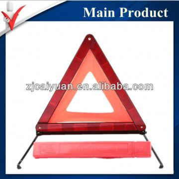 Triángulo amonestador reflexivo del coche seguridad