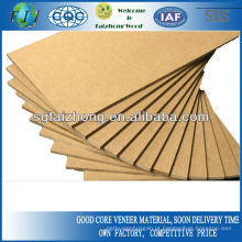 1220 * 2440mm Plain MDF / laminado MDF Board