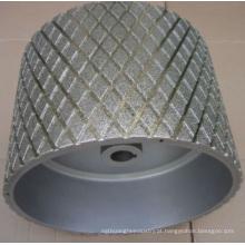 Amplamente utilizado de alta qualidade rebolo de diamante de pedra abrasiva