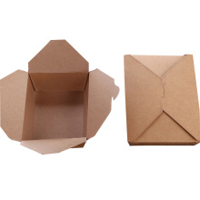 manufacture custom Factory cheap price food packaging paper bags noodle box metal