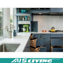 Europe Style Corner Kitchen Cabinets Furniture with Handle (AIS-K334)