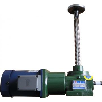 Electric screw jack for workshop lifting and loading