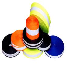 cinta reflectante de alta visibilidad para la ropa de color fluorescente