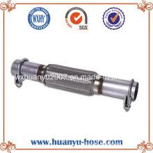 Flexible Rohr mit Nippel Auspuff Schalldämpfer