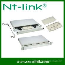 Panneau de raccordement à 24 fils de fibre optique