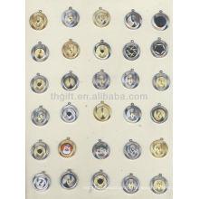 Mode / Werbeartikel / neueste Metall Gedenkmünze, Souvenir Münze mit Kette