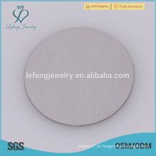 316l de aço inoxidável 22 milímetros Prata Cute Baby Pegada Floating placas Para 30 milímetros de vidro flutuante Lockets
