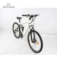 Súper venta bicicleta eléctrica inteligente Bicicleta de montaña eléctrica 2017