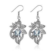 Mme Classic Fashion Earrings Silver Wedding Wedding Party