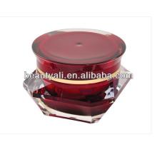 Diamond Acrylic Jar Packaging